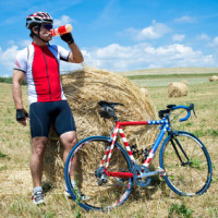 Tour mit dem Rennrad