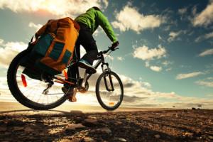 Gepäck auf dem Rennrad